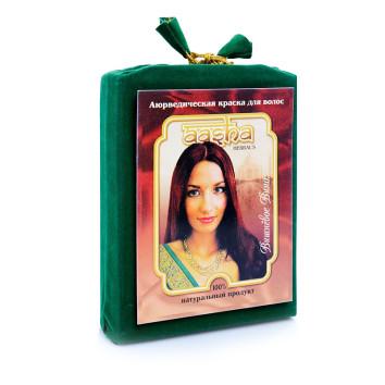 Аюрведическая краска для волос Вишневое вино Aasha Herbals