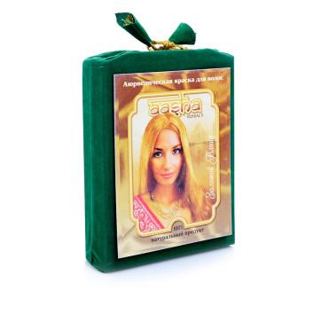 Аюрведическая краска для волос Золотой блонд Aasha Herbals