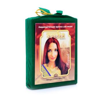 Аюрведическая краска для волос Медная Aasha Herbals