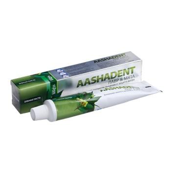 Зубная паста Лавр & Мята Aasha Herbals