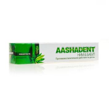 Зубная паста Ним & Бабул Aasha Herbals