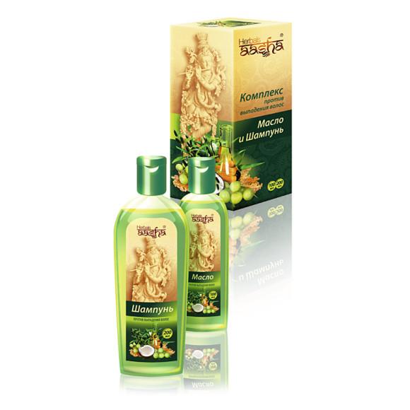 Комплекс против выпадения волос Aasha Herbals