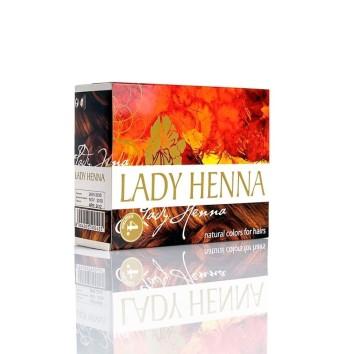 Краска для волос на основе хны Каштан Lady Henna