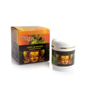 Крем для лица дневной увлажняющий Aasha Herbals