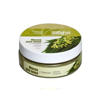Маска для лица с Нимом Глубокое очищение Aasha Herbals