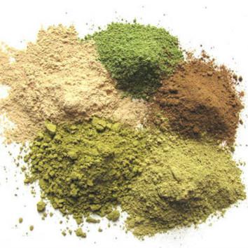 Натуральные травяные краски