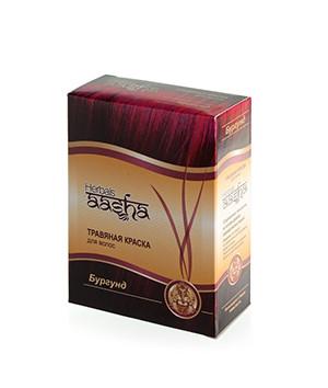Травяная краска для волос Бургунд Aasha Herbals