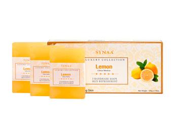 Мыло Лимон Synaa