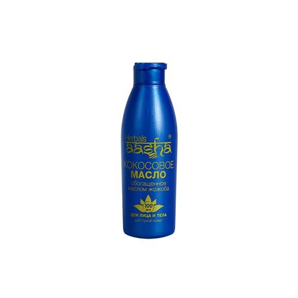 Кокосовое масло с Жожоба Aasha Herbals