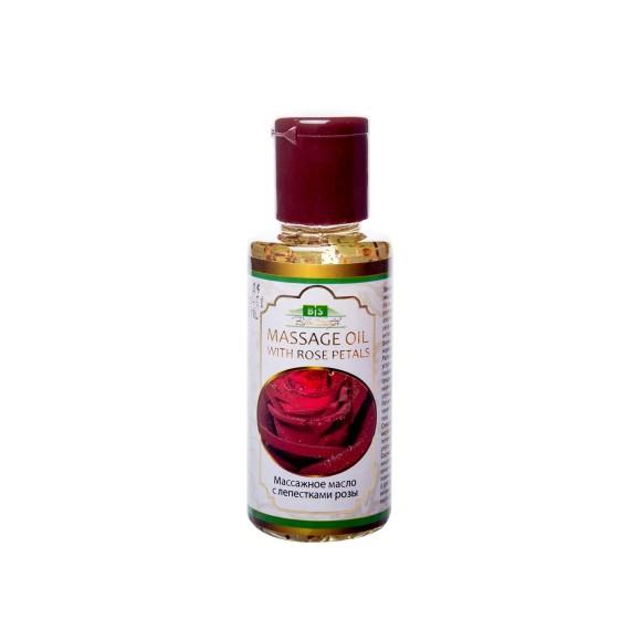Масло для лица с лепестками розы Bliss Style