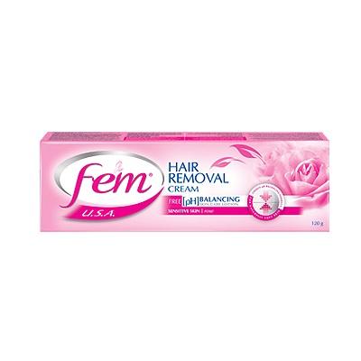 Крем для депиляции с экстрактом Розы Fem Dabur