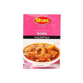 Смесь специй для мяса в йогуртовом соусе Korma Shan