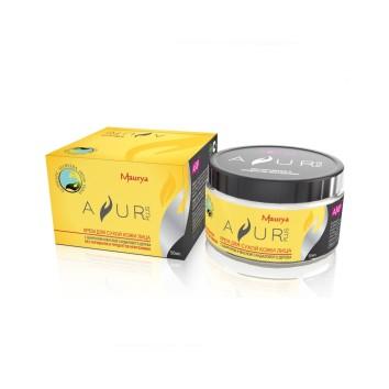 Крем с Шафраном и маслом Сандалового дерева Ayur Plus