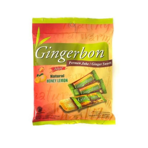 Имбирные конфеты с мёдом и лимоном Gingerbon