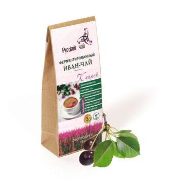 Иван-чай с листом вишни ферментированный Русский чай