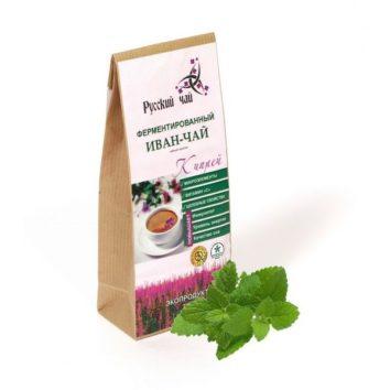 Иван-чай с листом мелиссы ферментированный Русский чай