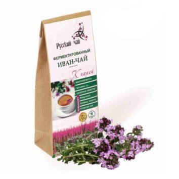 Иван-чай с листом чабреца ферментированный Русский чай