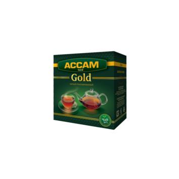 Индийский гранулированный черный чай Ассам Gold Teahouse