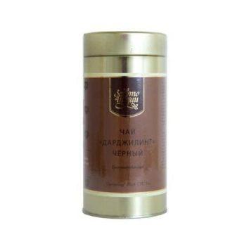 Индийский гранулированный черный чай Дарджилинг Золото Индии