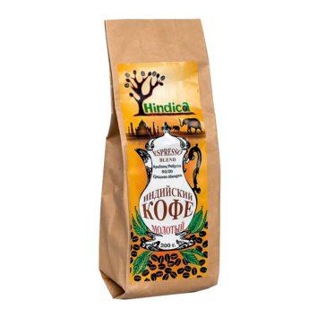 Индийский кофе молотый Espresso Blend Hindica