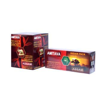 Индийский черный байховый чай Assam Amitava