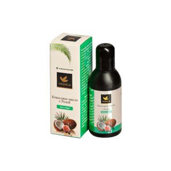 Кокосовое масло с розой Veda Vedica