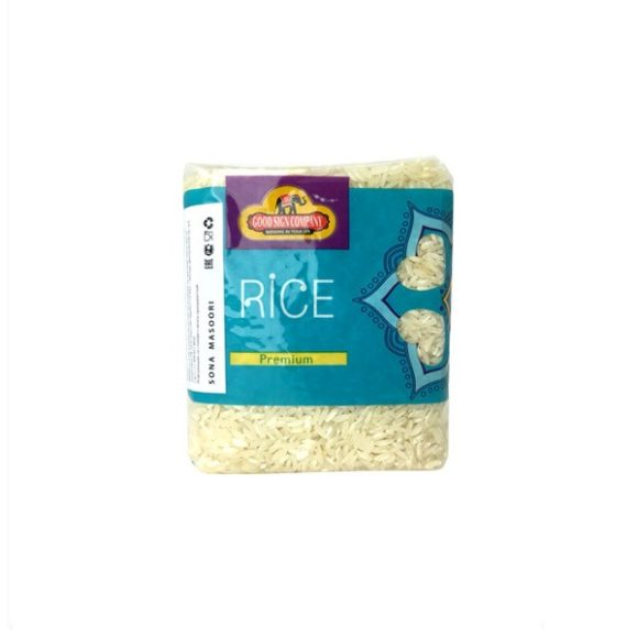 Рис сона масури среднезерный 450 гр. Good Sign Company