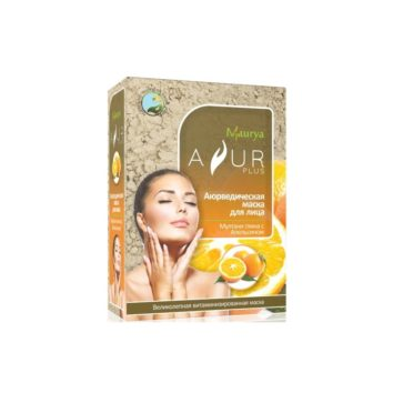 Маска с апельсином и мултани глиной витаминизированная Ayur Plus
