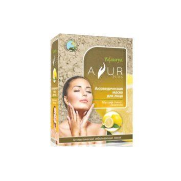 Маска с лимоном и мултани глиной против пигментации Ayur Plus