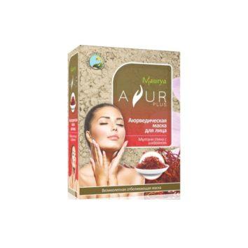 Маска с шафраном и мултани глиной с эффектом лифтинга Ayur Plus