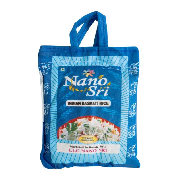 Рис басмати 1 кг. Nano Sri