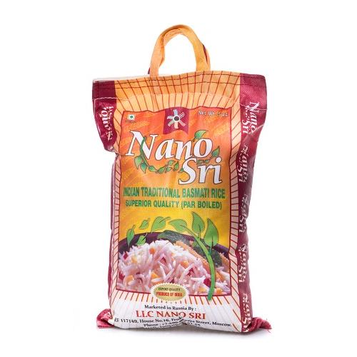 Рис басмати 5 кг. Nano Sri
