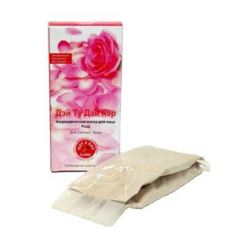 Маска для лица с розой против пигментации Day 2 Day Care