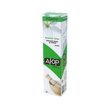 Травяной крем с жасмином Ayur Plus